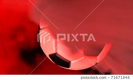 축구 공 농구 3D 일러스트 71671848