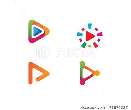 play logo Vector 71675227