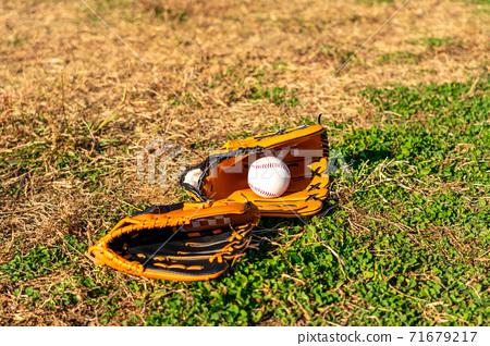 Baseball gloves and balls 71679217