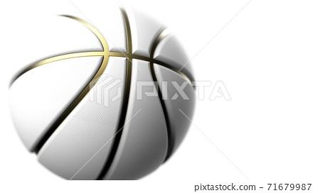 농구 축구 공 3D 일러스트 71679987