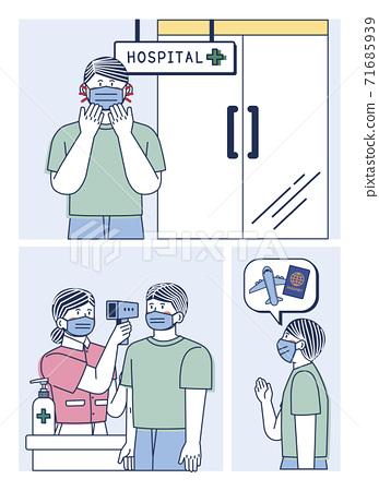 COVID virus prevention concept illustration 007 71685939