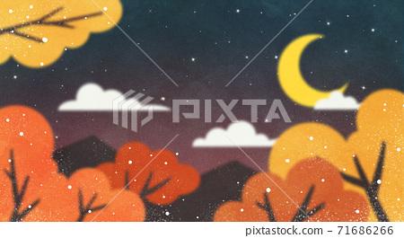 Beautiful autumn landscape 015 71686266