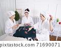 Happiness people lifestyle, smiling active senior ladies 170 71690071