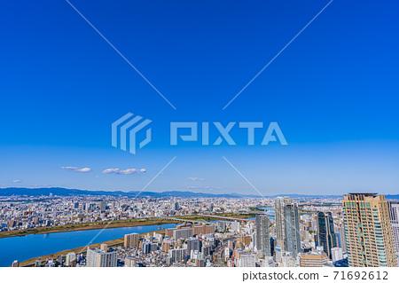 오사카 키타 도시 경관 71692612
