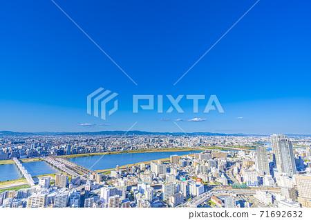 오사카 키타 도시 경관 71692632