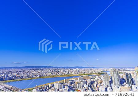 오사카 키타 도시 경관 71692643