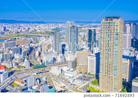 오사카 키타 도시 경관 71692893
