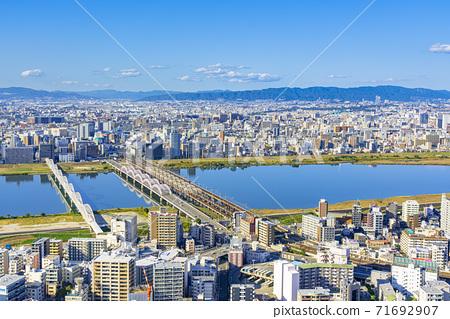 大阪北城市景觀 71692907