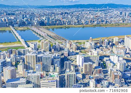 오사카 키타 도시 경관 71692908