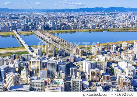 오사카 키타 도시 경관 71692910