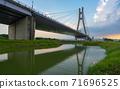 新北大橋 倒影 公園 71696525