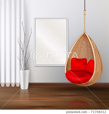 Swing Chair Interior Composition 71706012
