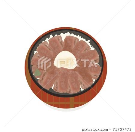熊本縣特產紅牛肉碗 71707472