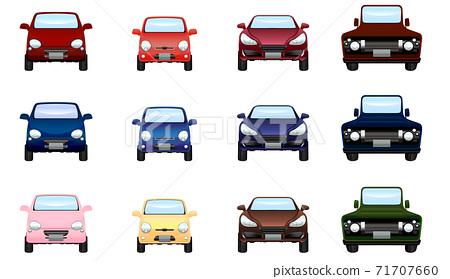 各種彩色車 71707660