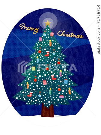 材質聖誕樹(2020)-10科技 71726714