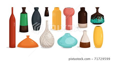 Pottery vase for flower home interior decoration 71729599
