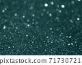 Christmas green tidewater glitter texture background. 71730721