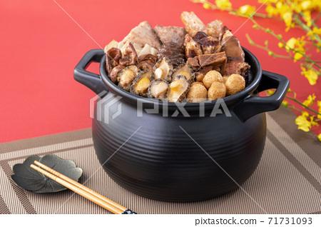 佛跳牆 年菜 農曆新年 Chinese lunar new year Fo Tiao Qiang 71731093