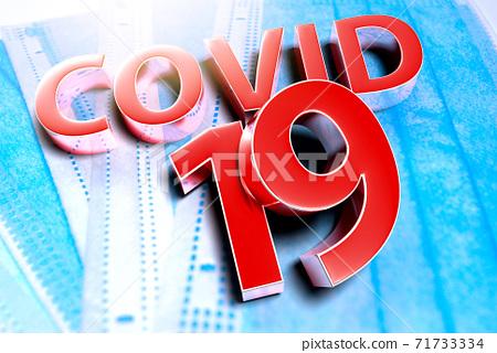 Covid 19. 71733334