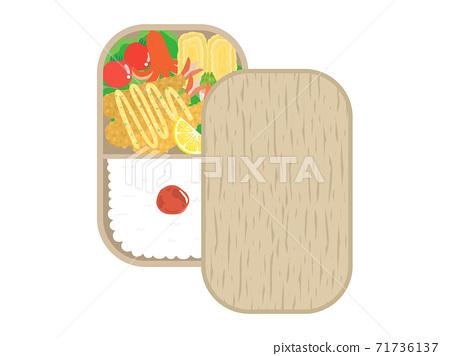 蝦飛午餐的插圖 71736137