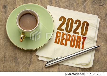 2020 report word abstract on napkin 71737306