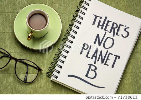There is no planet B reminder and warning 71738613