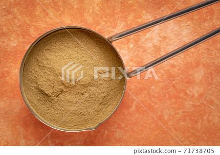 green coffee beans powder 71738705