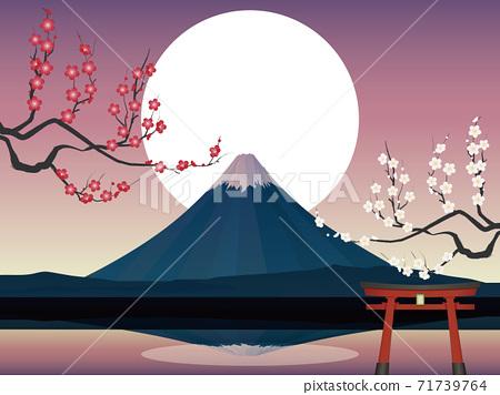 富士山 71739764