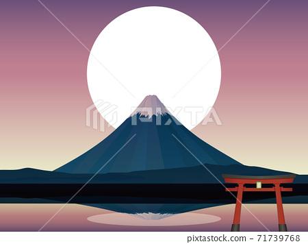 富士山 71739768