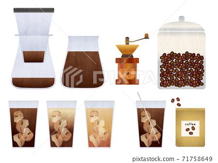 冰咖啡和設備設置圖 71758649