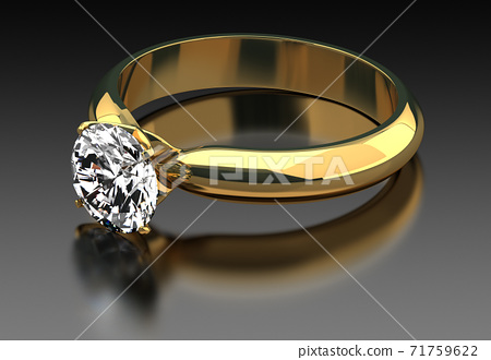 Solitaire ring 71759622
