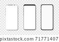 Mockup smartphone set 71771407