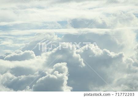 Sao Paulo summer clouds 71772203