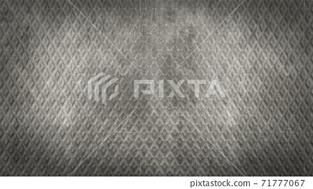 Diamond knurled steel texture background 71777067