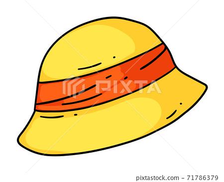 Cartoon hat headwear isolated on white background 71786379