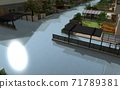 洪水破壞圖片 71789381