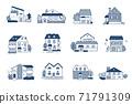 12套各種類型的房屋 71791309