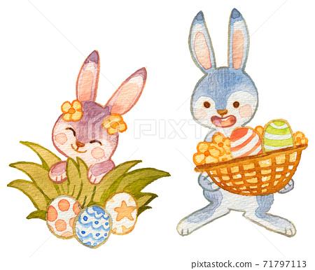 復活節兔子 71797113