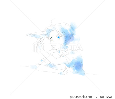 Paper plane boy 71801358