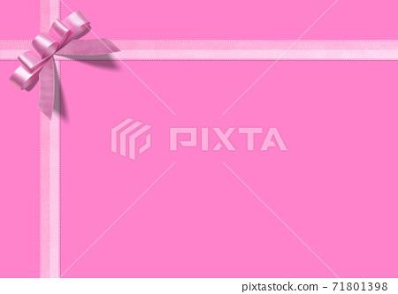 粉紅絲帶上的粉紅是可愛的自由背景 71801398