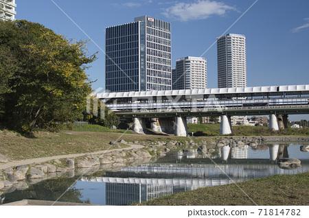 후타 코타 마가와 타마가와 하천 부지 71814782