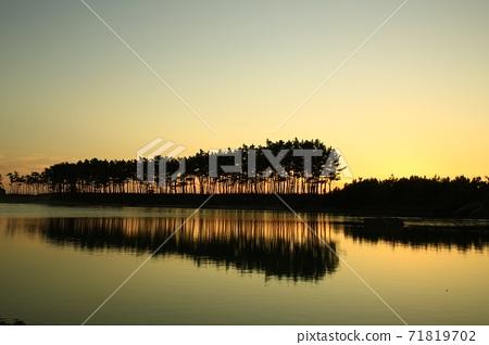 노을이있는풍경,운여해변 71819702