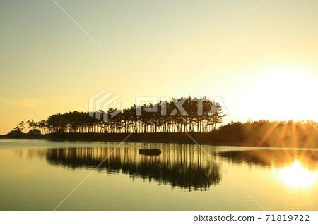 노을이있는풍경,운여해변 71819722