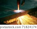 Industrial cnc plasma machine cutting 71824174