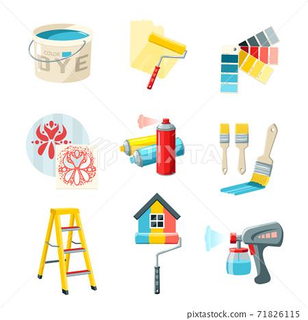 Painting Work Set 71826115