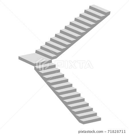 Stairs vector illustration isolated on white background 71828711