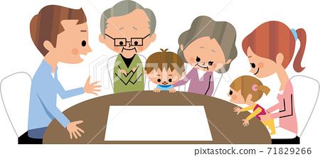 대가족 회의 71829266