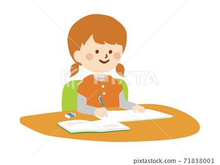 一個學習的女孩 71838001