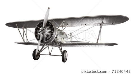 Ancient fight airplane 71840442