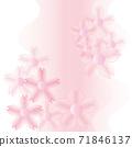 쉬폰 벚꽃 드레스 같은 이미지 부드러운 핑크 71846137